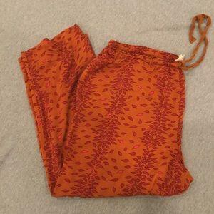 Lilka orange sleep/lounge pants